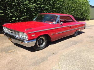 1963 Ford Galaxie  500XL Coupe.