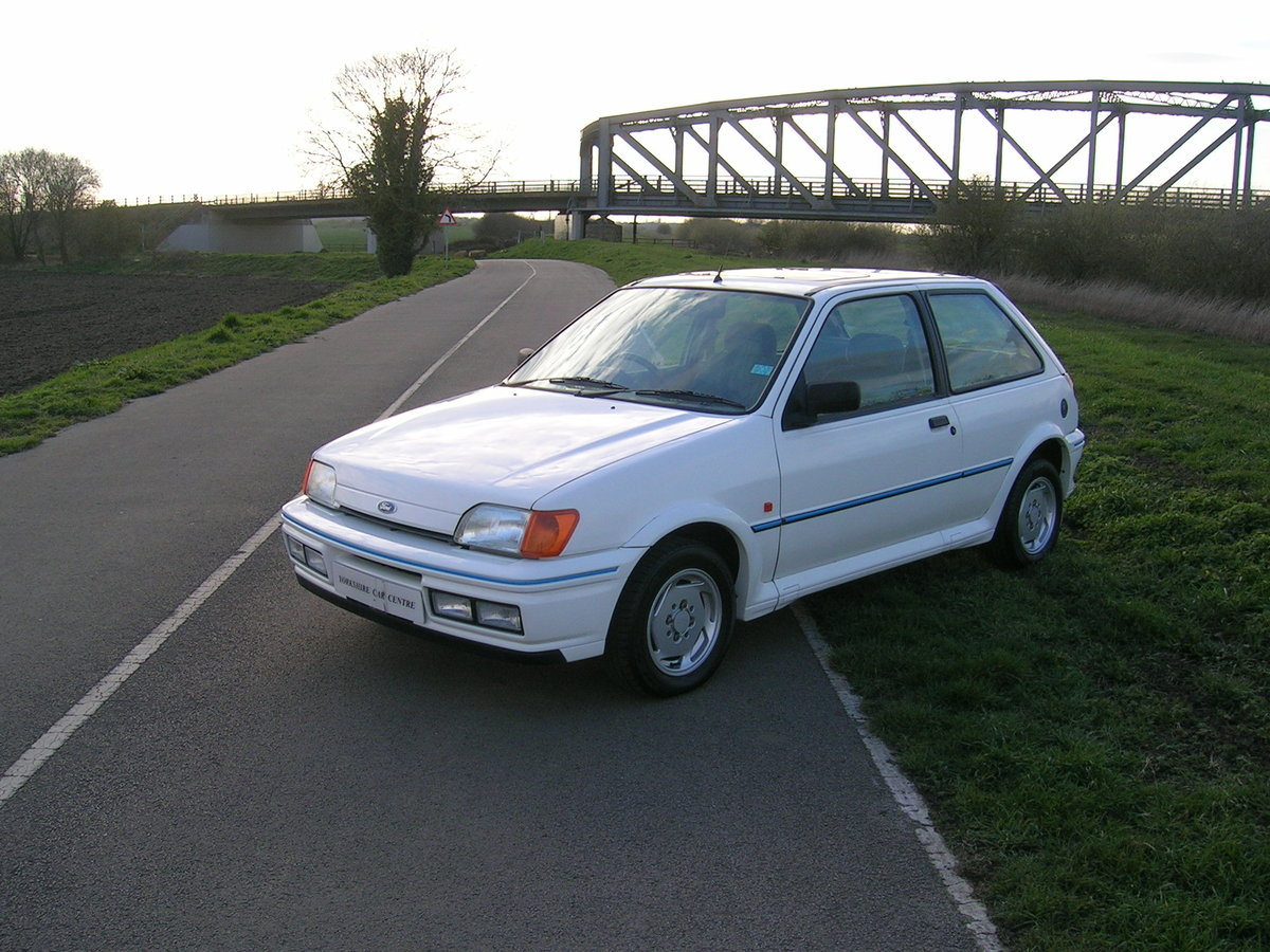 1991 Ford Fiesta XR2i Very Low Mileage Collectable For Sale (picture 2 of 6)