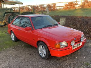 1988 Ford Escort XR3i For Sale
