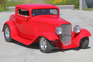 1932 Custom Ford Deuce Coupe Downs Body = Fast mods $59.5k For Sale