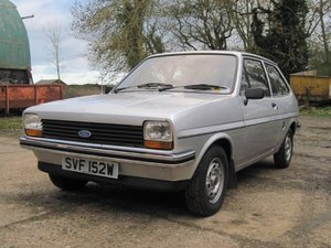 1981 Ford Fiesta 1.1 L MkI at ACA 13th April For Sale
