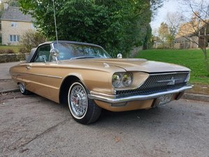 1966 Ford Thunderbird Roadster at ACA 13th April For Sale