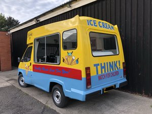 1988 Ford Transit Ice Cream Van Classic Mk3 Morrison For Sale