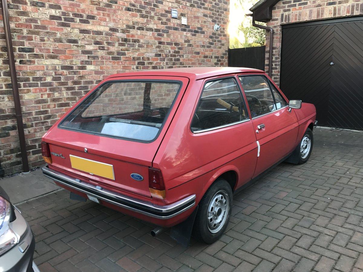 Fiesta Mk1 1978 957cc High Compression L For Sale (picture 2 of 6)