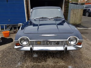 1967 Ford Corsair Crayford Convertible.  V6 3.0L For Sale