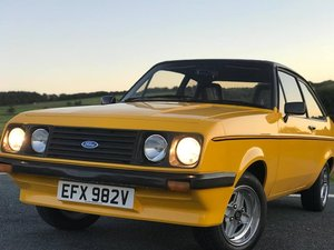 1979 Ford Escort RS 2000 Custom For Sale