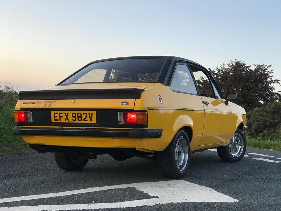 1979 Ford Escort RS 2000 Custom For Sale (picture 2 of 6)