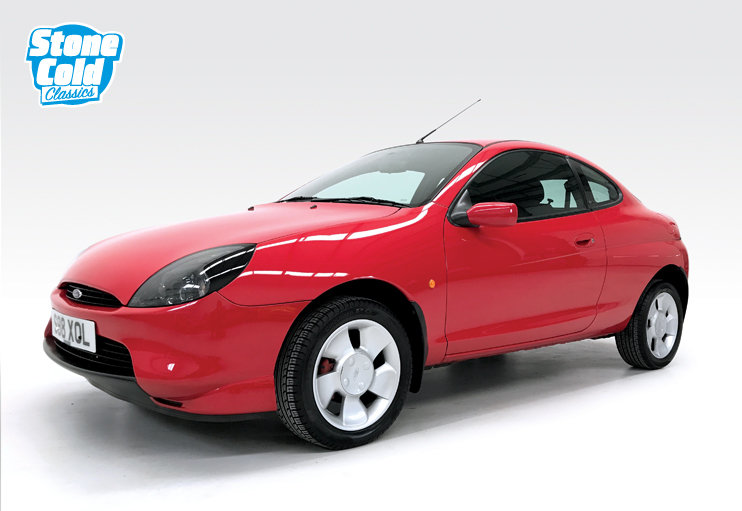 1998 Ford Puma 1.4 with just 12,500 miles For Sale (picture 1 of 6)