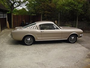 1965 Mustang Fastback Coupe