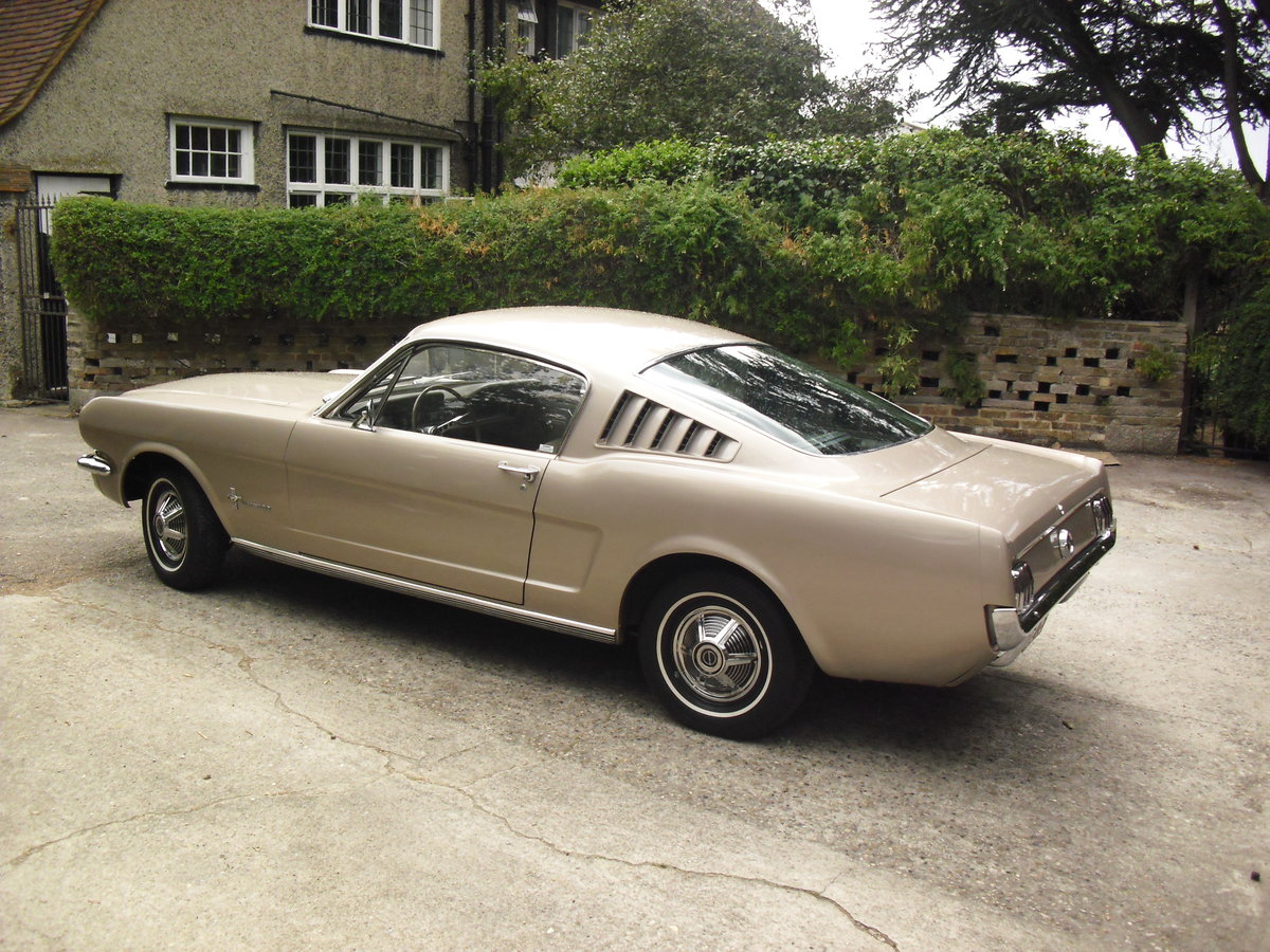1965 Mustang Fastback Coupe For Sale (picture 2 of 6)
