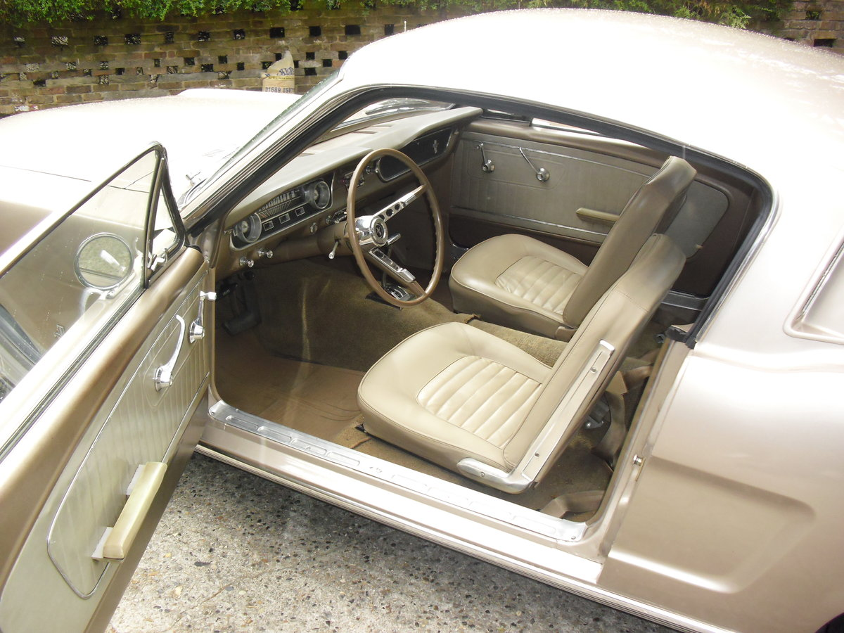 1965 Mustang Fastback Coupe For Sale (picture 5 of 6)