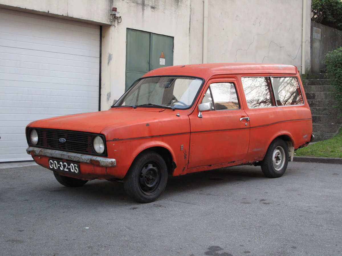 1976 Ford Escort Mk2 Van For Sale (picture 1 of 6)
