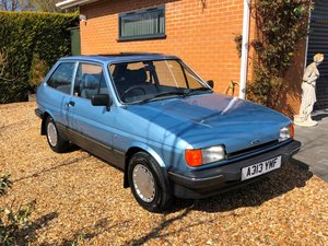 1984 Ford Fiesta 1.1 Ghia at ACA 13th April  For Sale