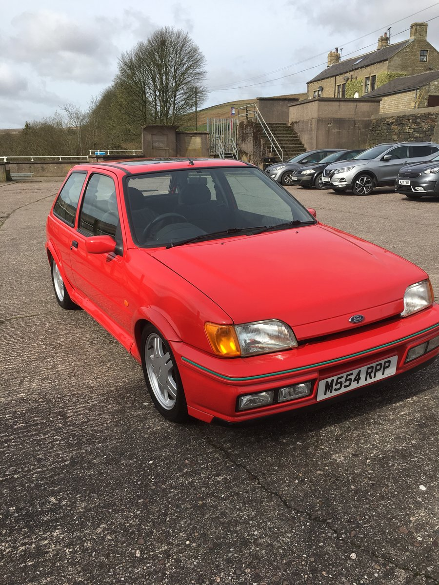 1995 Rare Ford Fiesta RS1800  For Sale (picture 2 of 6)