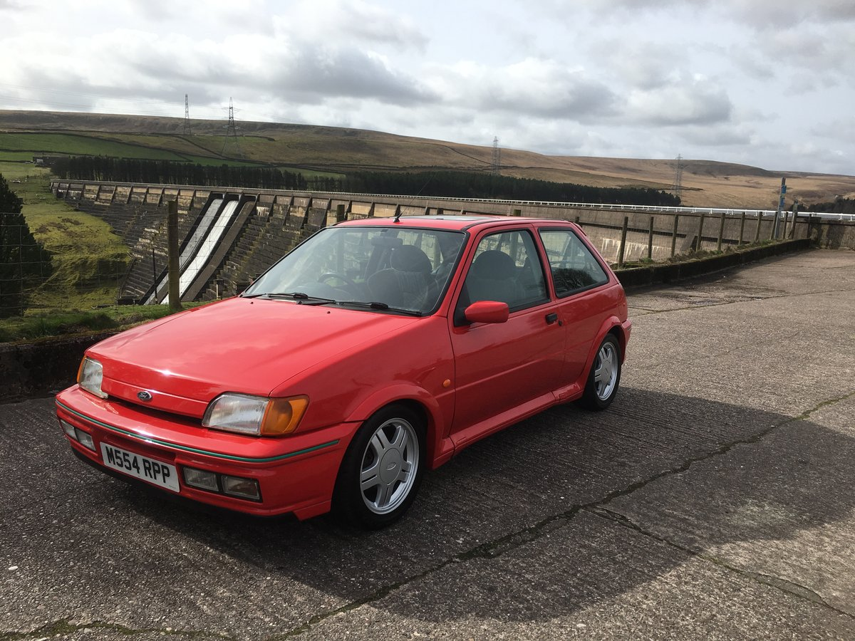 1995 Rare Ford Fiesta RS1800  For Sale (picture 3 of 6)