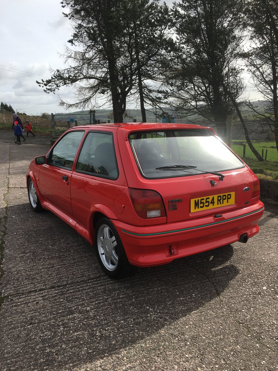 1995 Rare Ford Fiesta RS1800  For Sale (picture 4 of 6)