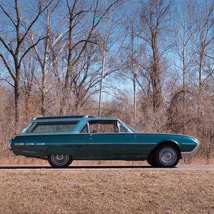 1962 Ford Thunderbird Vista Bird Custom Wagon = Rare 1 off  For Sale