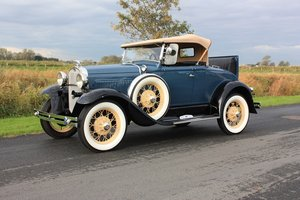 Ford Model A Roadster Deluxe 1930 in concours condition For Sale
