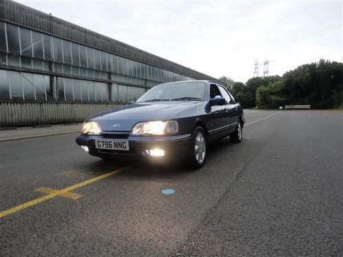1989 Ford Sierra XR4x4i 2.9 at Morris Leslie Auction 25th May SOLD by Auction (picture 1 of 6)