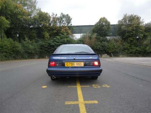 1989 Ford Sierra XR4x4i 2.9 at Morris Leslie Auction 25th May SOLD by Auction (picture 3 of 6)