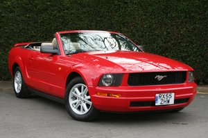 2006 Ford Mustang 4.0 V6 Convertible Auto - 49,000 miles SOLD