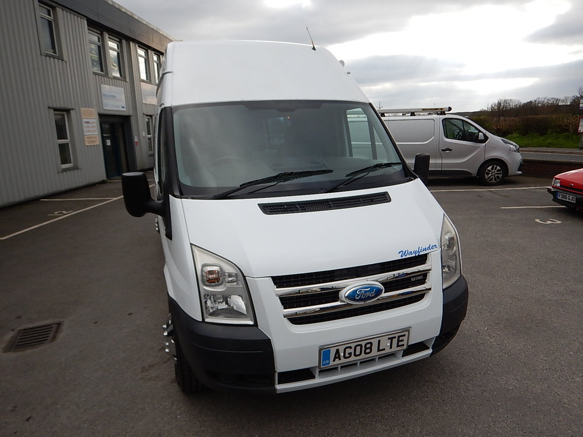 2008 FORD TRANSIT 100 T350L High Roof Camper Van SOLD (picture 2 of 6)