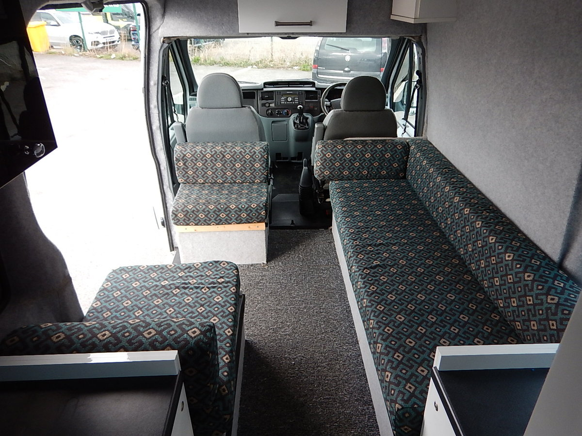 2008 FORD TRANSIT 100 T350L High Roof Camper Van SOLD (picture 6 of 6)