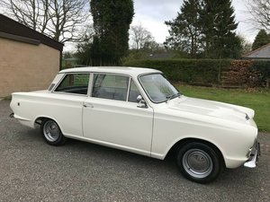 1966 FORD CORTINA MK1 1500 GT 2 DOOR WHITE SIMPLY STUNNING!! SOLD