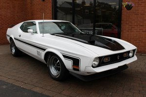 1972 Ford Mustang Mach 1 351 V8 Fastback  SOLD