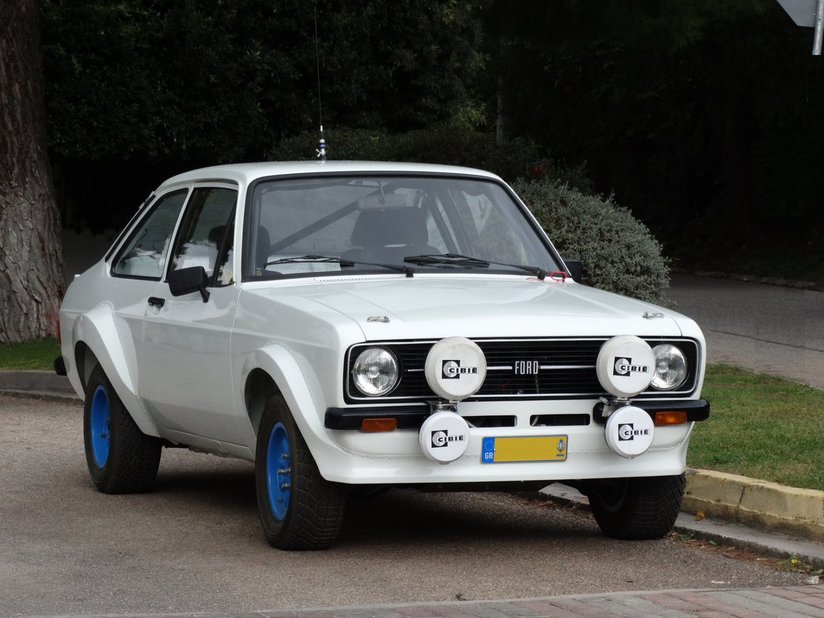 1978 Ford Escort RS1800, Group 4, Safari spec , period restored  For
