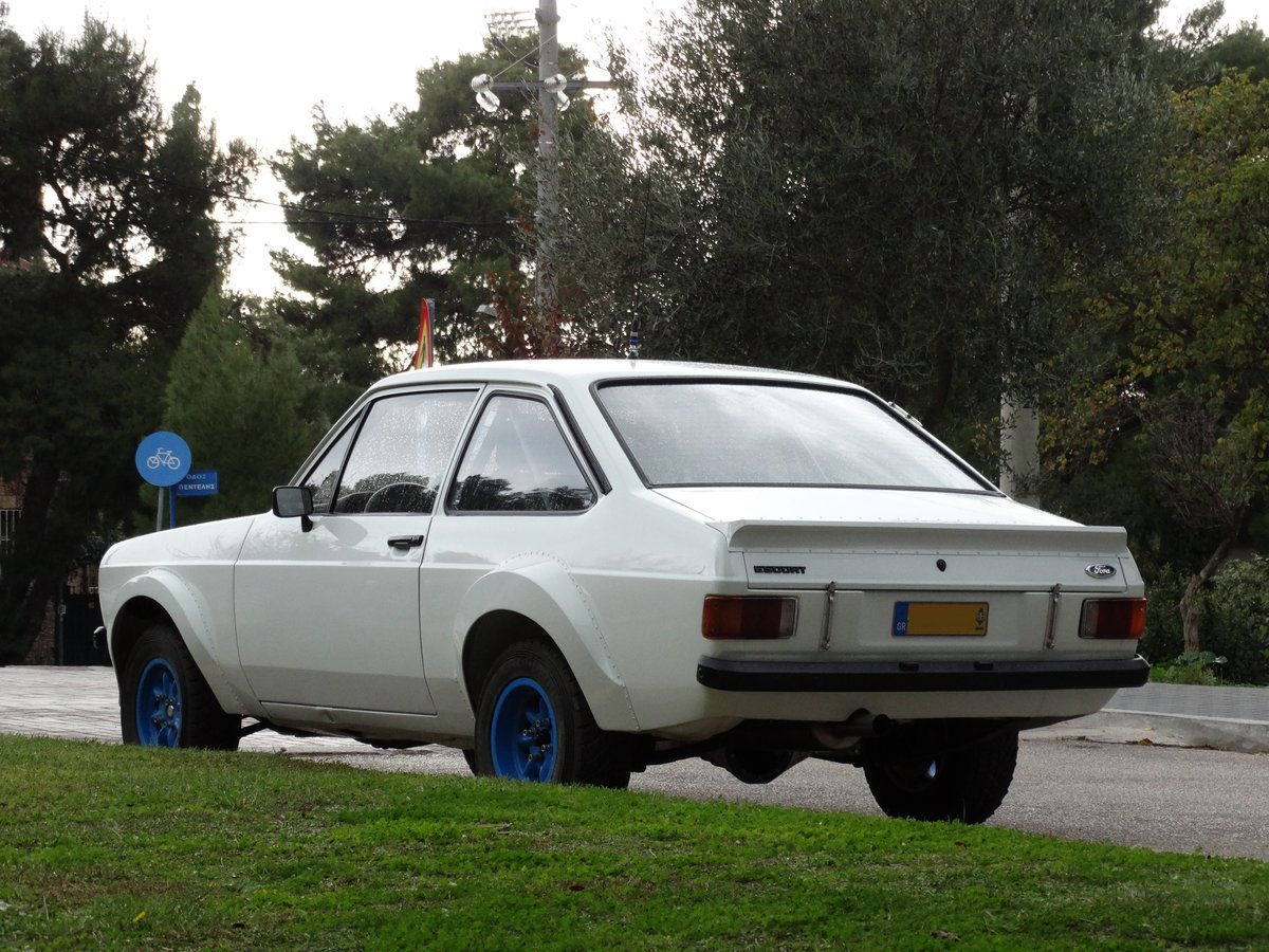 1978 Ford Escort RS1800, Group 4, Safari spec., period restored. For Sale (picture 2 of 6)