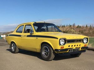 1975 Mk1 Ford Escort 2L Pinto at Morris Leslie Auction 17th Aug For Sale by Auction
