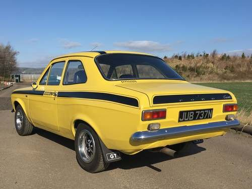 1975 Mk1 Ford Escort 2L Pinto at Morris Leslie Auction 17th Aug For Sale by Auction (picture 2 of 6)