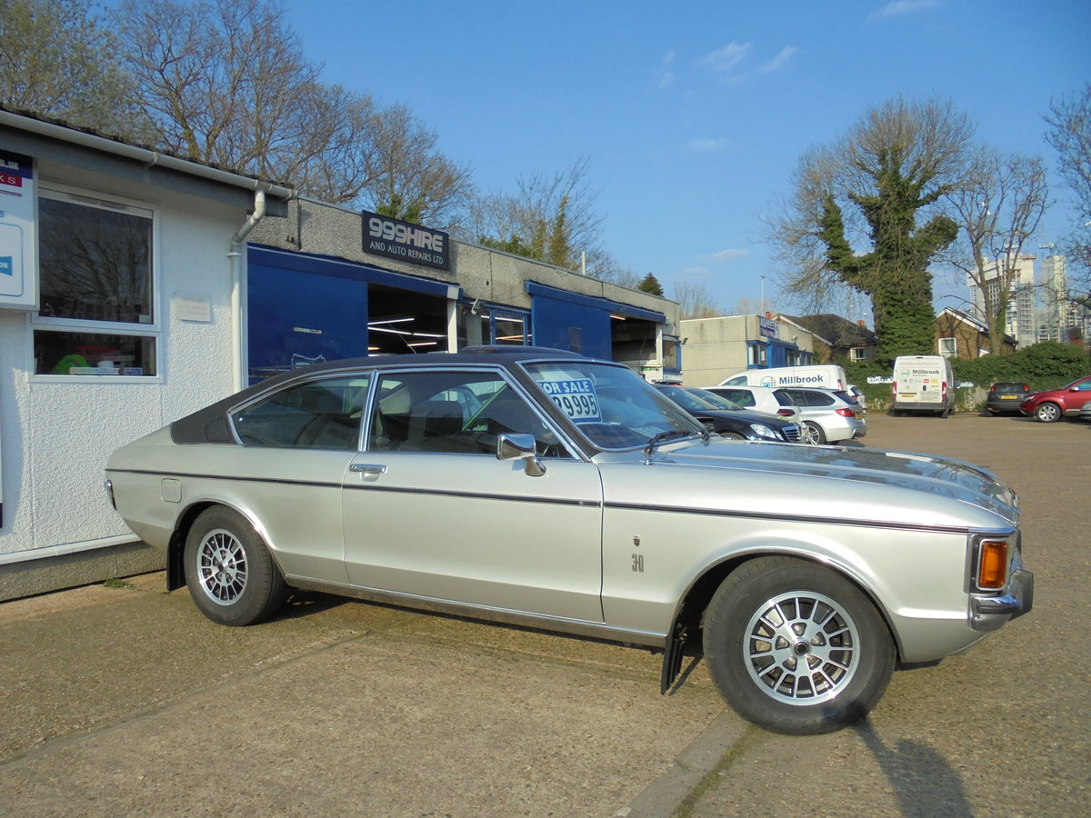 1977 FORD GRANADA 3.0GHIA MK1 COUPE CONCOURS WINNER For Sale (picture 1 of 6)