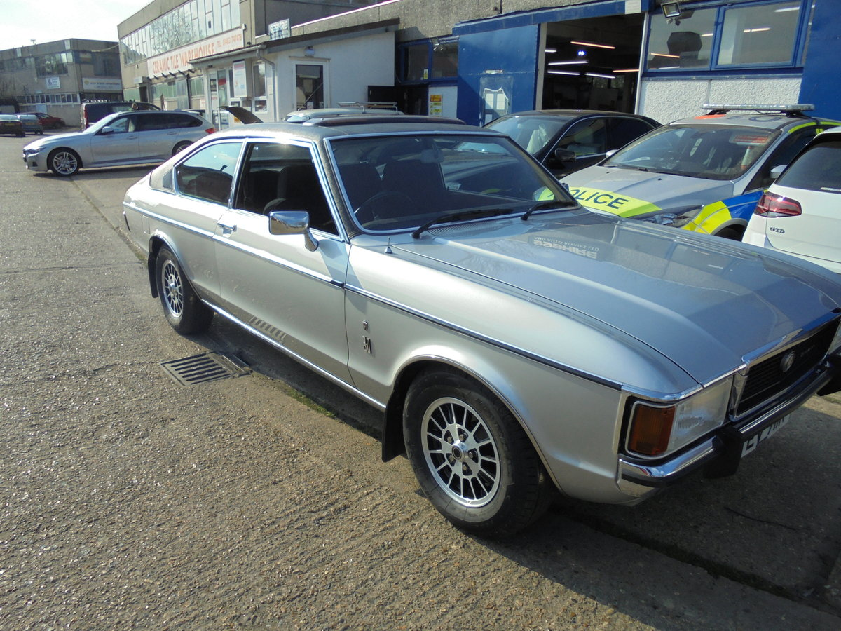 1977 FORD GRANADA 3.0GHIA MK1 COUPE CONCOURS WINNER For Sale (picture 5 of 6)
