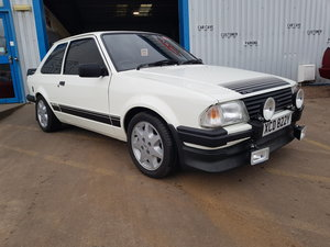 1983 Ford Escort Rs1600i For Sale