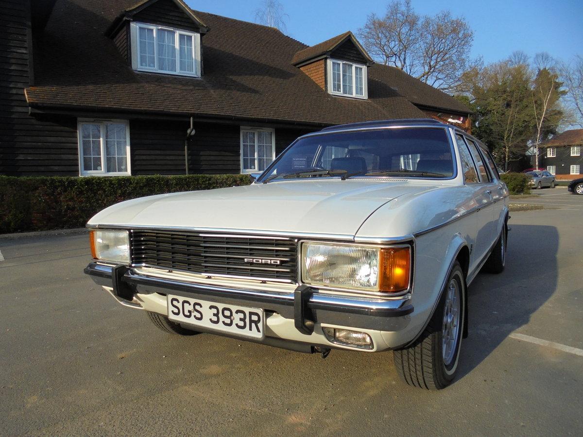 1976 FORD GRANADA 3.0GL ESTATE MK1 CONCOURS CAR For Sale (picture 1 of 6)