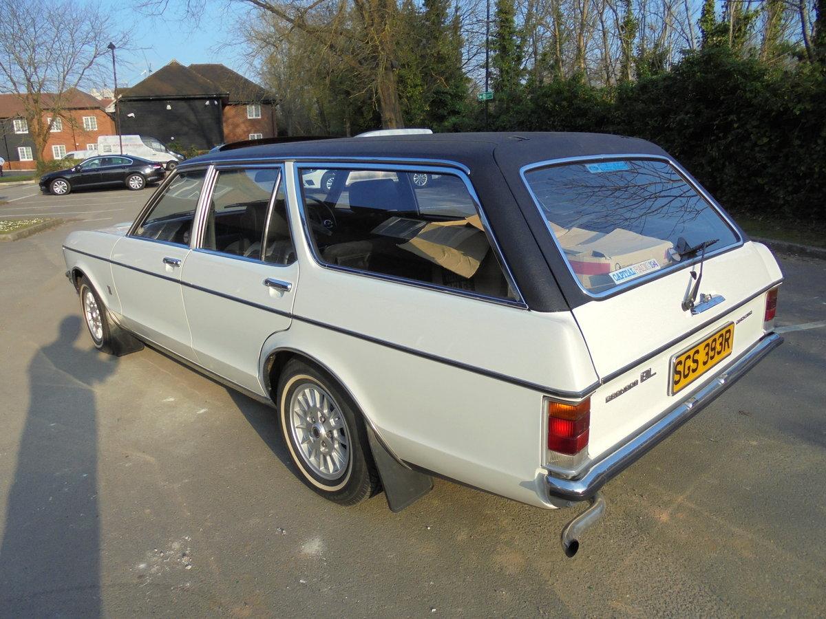 1976 FORD GRANADA 3.0GL ESTATE MK1 CONCOURS CAR For Sale (picture 2 of 6)