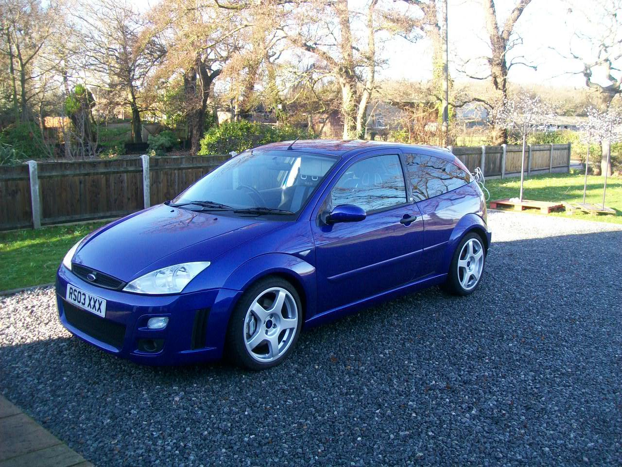 2003 Ford focus rs mk1 SOLD (picture 1 of 4)