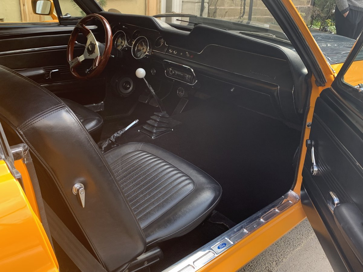 1968 68 Mustang Coupe For Sale (picture 6 of 6)
