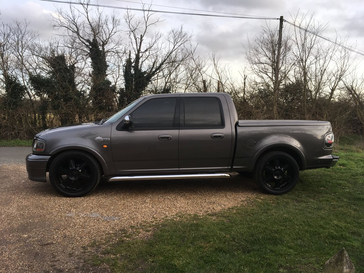 2002 FORD F-150 HARLEY DAVIDSON PICK UP For Sale (picture 4 of 6)