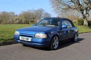 Ford Escort Popular Cabrio 1986 - to be auctioned 26-04-19 For Sale by Auction