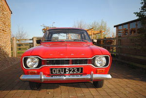 1971 MK 1 Ford Escort For Sale