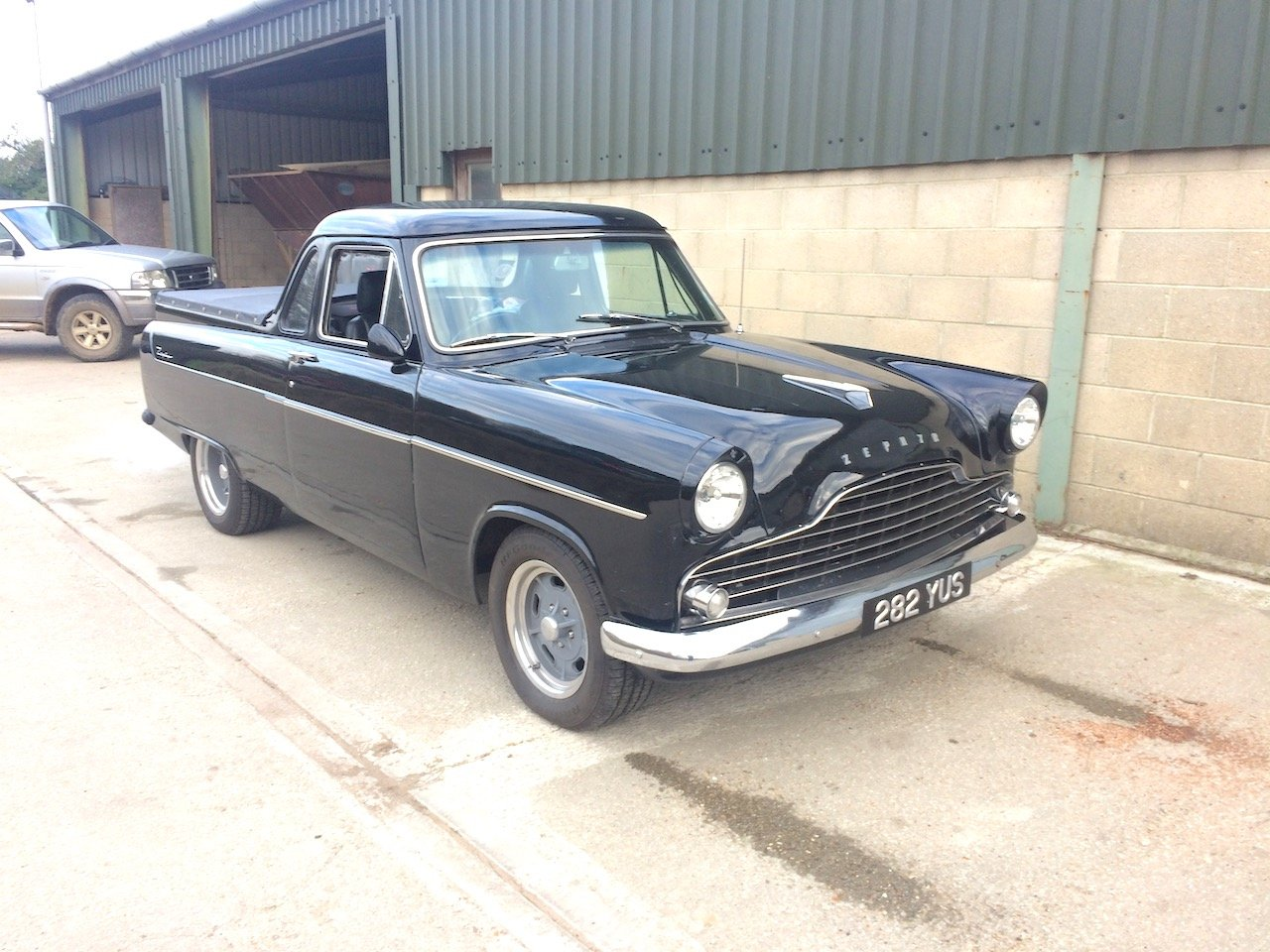 1957 Ford Mk 2 Zephyr Highline UTE pick-up For Sale (picture 3 of 6)