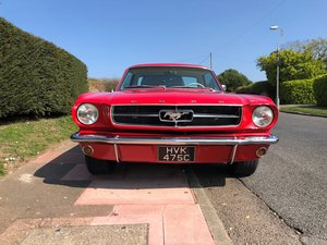 Mustang 289 V8 Hardtop Coupe -  1965 For Sale