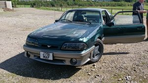 1992 5.0 litre Fox Body Mustang GT Manual - Green For Sale