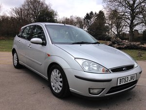 2003 FORD FOCUS 1.8 GHIA TDCI  For Sale