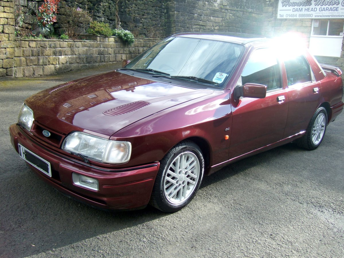 1991 H reg ford sierra sapphire rs cosworth 4x4 4dr SOLD (picture 1 of 6)