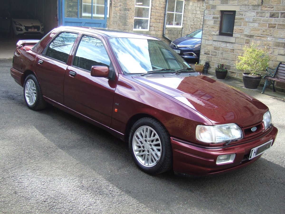 1991 H reg ford sierra sapphire rs cosworth 4x4 4dr SOLD (picture 2 of 6)