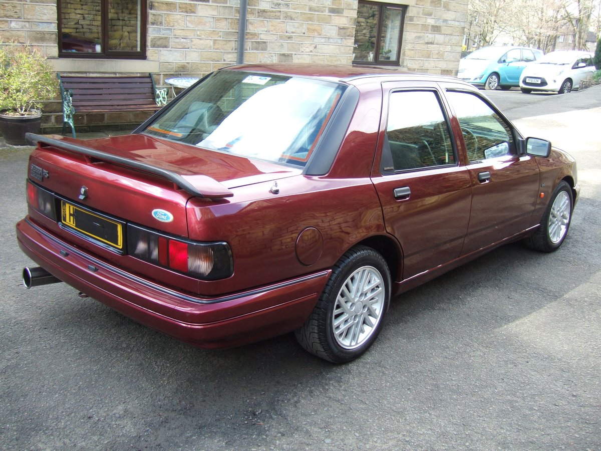 1991 H reg ford sierra sapphire rs cosworth 4x4 4dr SOLD (picture 3 of 6)